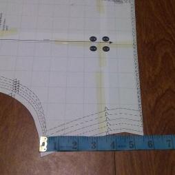 Copy of short length pattern