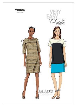 Easy Vogue Pattern (Love it!)